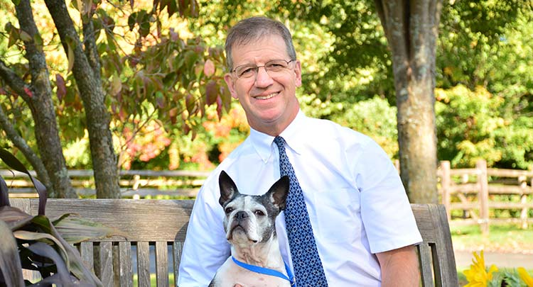 Dr. Groshek at Salmon Brook Veterinary Hospital