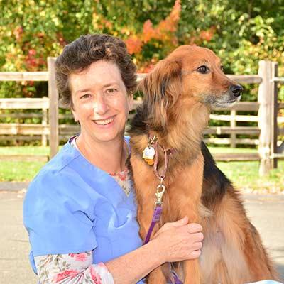 Andrea at Salmon Brook Veterinary Hospital
