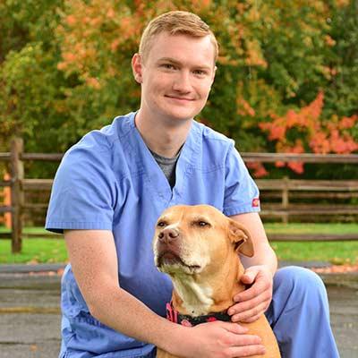 Eric at Salmon Brook Veterinary Hospital