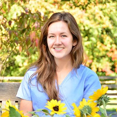 Kelly at Salmon Brook Veterinary Hospital