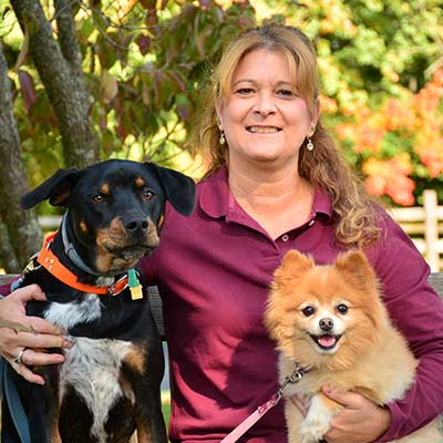 Leslie at Salmon Brook Veterinary Hospital