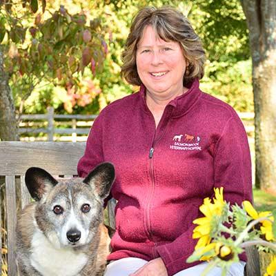 Lisa at Salmon Brook Veterinary Hospital
