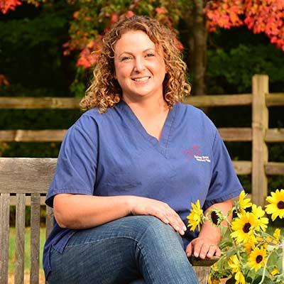 Melissa at Salmon Brook Veterinary Hospital