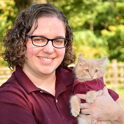 Stephanie at Salmon Brook Veterinary Hospital