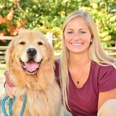 Taylor at Salmon Brook Veterinary Hospital